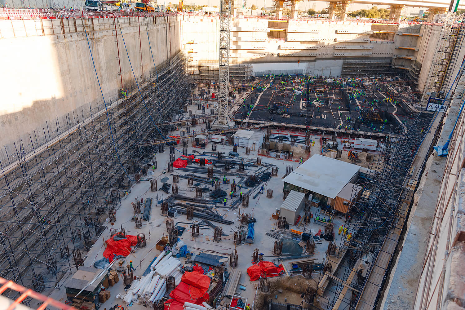 Ithra Dubai lays down over 26,000m3 of Concrete to inaugurate the launch of One Za'abeel